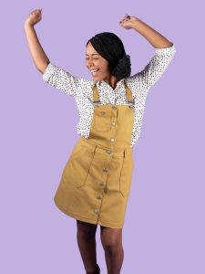 Tilly and The Buttons Sewing Pattern - Bobbi Pinafore & Skirt
