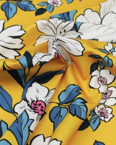 Cotton Candess Drill Fabric - Coleman Bouquet