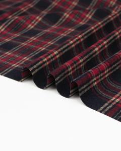 Brushed Coating Fabric - Alva Plaid