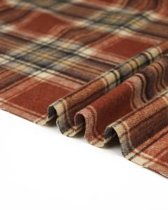 Brushed Coating Fabric - Halvar Plaid