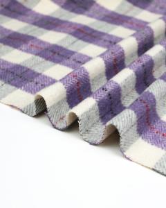 Brushed Coating Fabric - Sylvi Plaid
