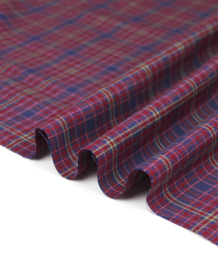 Brushed Cotton Flannel Fabric - Ambrose Plaid