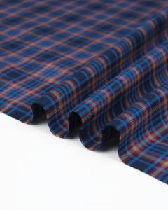 Brushed Cotton Flannel Fabric - Deverel Plaid