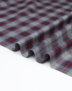 Brushed Cotton Flannel Fabric - Neville Plaid