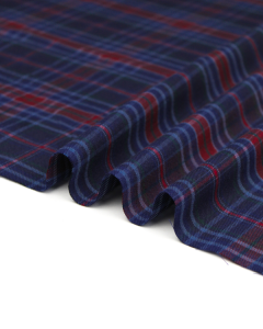 Brushed Cotton Flannel Fabric - Stanmore Plaid