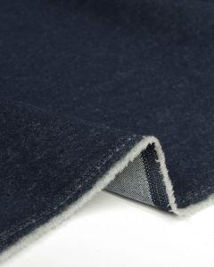 Brushed Denim Fabric - Indigo