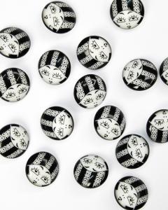 Button - Liza - 18mm