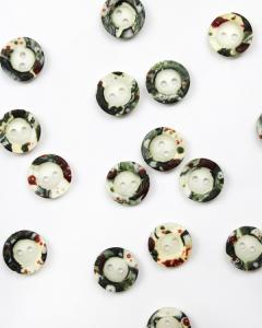 Button - Art Sprinkle - 15mm