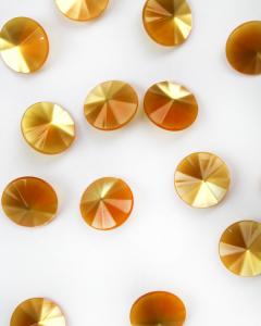 Button - Soleil Circle - 15mm