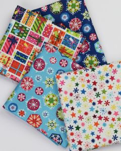 Christmas Fat Quarter Bundle - Candy Christmas
