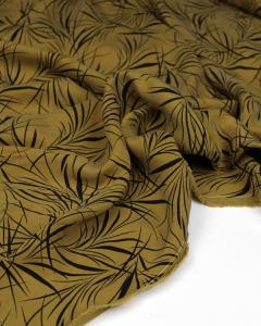 Carmela Cupro Twill Fabric - Dijon