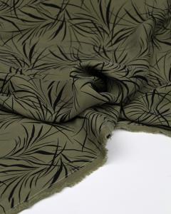 Carmela Cupro Twill Fabric - Olive