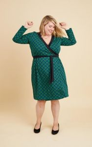 Cashmerette - Paper Sewing Pattern - Appleton Dress - Size 12 - 32