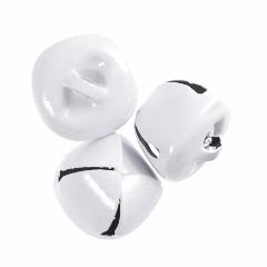 Jingle Bells - 20mm - White