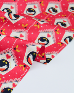 Christmas Patchwork Fabric - Merry Little Christmas - Birdhouses