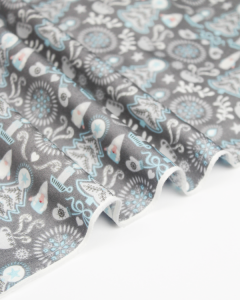 Christmas Patchwork Fabric - Hygge Christmas - Tonttu Silver