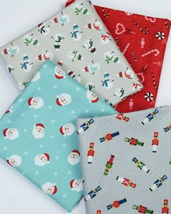 Christmas Fat Quarter Bundle - Christmas Toyshop