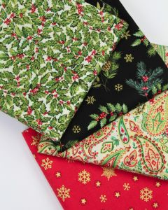 Christmas Fat Quarter Bundle - Classic Christmas
