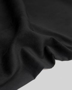 Cotton Babycord Fabric - Black