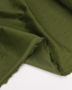 Cotton Babycord Fabric - Matcha