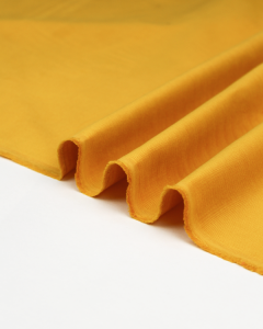 Cotton Babycord Fabric - Mustard