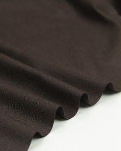 Pure Cotton Canvas Fabric - Dark Chocolate