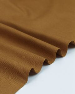 Pure Cotton Canvas Fabric - Pecan