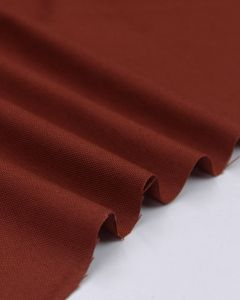 Pure Cotton Canvas Fabric - Rosewood