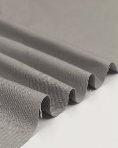 Pure Cotton Canvas Fabric - Silver