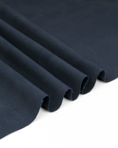 Cotton Chino Fabric - Navy