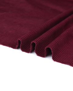 Cotton Corduroy Fabric - Wine