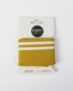 Cotton Cuffing - Double Stripe Yellow