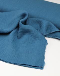 Cotton Double Gauze Fabric - Marlin