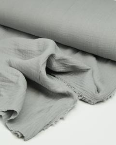 Cotton Double Gauze Fabric - Mist