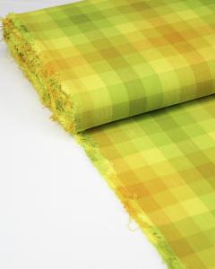 Cotton Fabric - Alison Glass - Kaleidoscope Plaid Sunshine