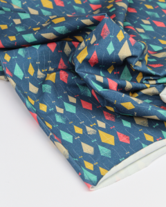 Cotton Jersey Fabric - Let's Go Fly a Kite!