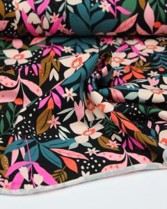 Cotton Jersey Fabric - Soiree Secret Garden