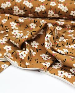 Cotton Jersey Fabric - Soiree Spring Ochre