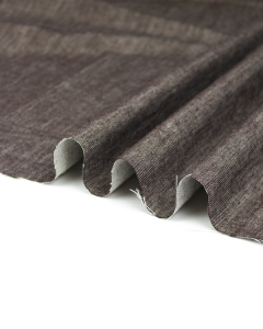 Cotton & Linen Denim Fabric - Bark