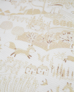 Cotton Pique Fabric - Baby Boom - Countryside Oatmeal