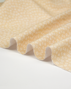 Cotton Pique Fabric - Baby Boom - Nice Day in Cookie