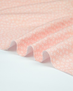 Cotton Pique Fabric - Baby Boom - Nice Day in Pink