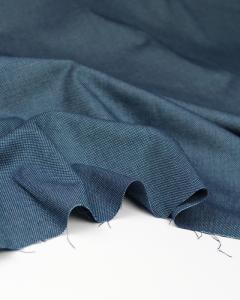Cotton Pique Fabric - Ocean Blue
