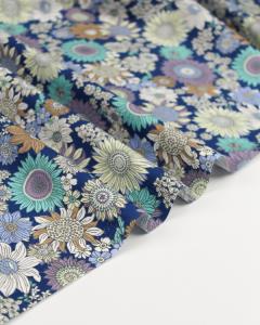 Cotton Poplin Fabric - Stevie Moon
