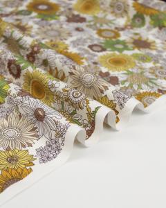 Cotton Poplin Fabric - Stevie Sun