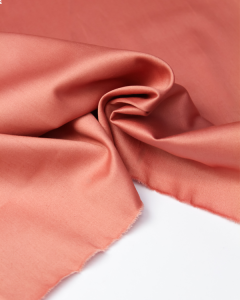 Cotton Sateen Fabric - Blush