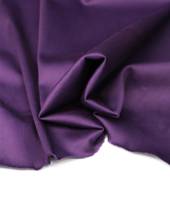 Cotton Sateen Fabric - Iris