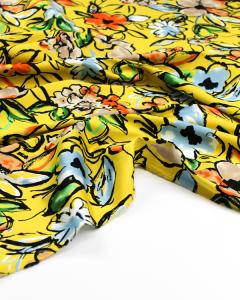 Cotton Sateen Fabric - Verano