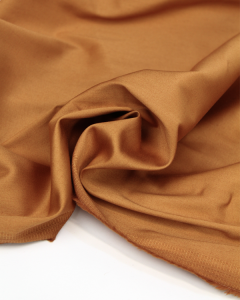 Cotton Sateen Fabric - Gingerbread