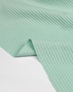 Cotton Waffle Fabric - Celeste
